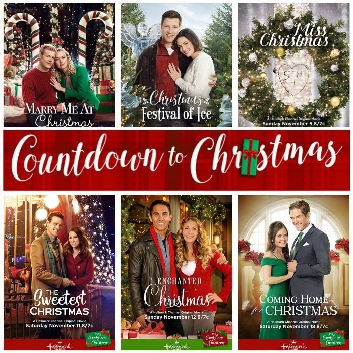 The Hallmark Channel Countdown to Christmas Schedule 2017