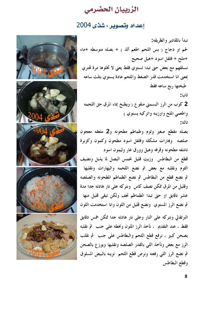 الزربيان الحضرمي Recipes Food And Drink Food