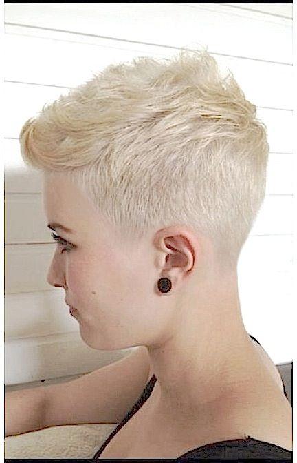 Shot Back And Sides Very Short Hair Really Short Hair Short Hair Styles