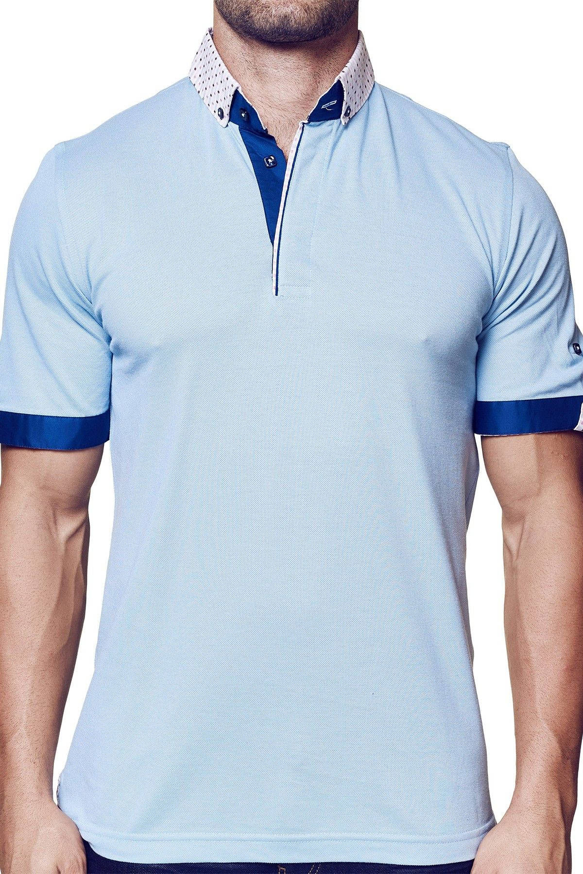 Pastel Short Sleeve Polo Shirt