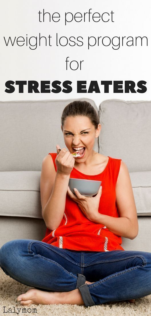 The Perfect Weight Loss Program for Stress Eaters.  Are you a stress eater?  Let this weight loss pr...