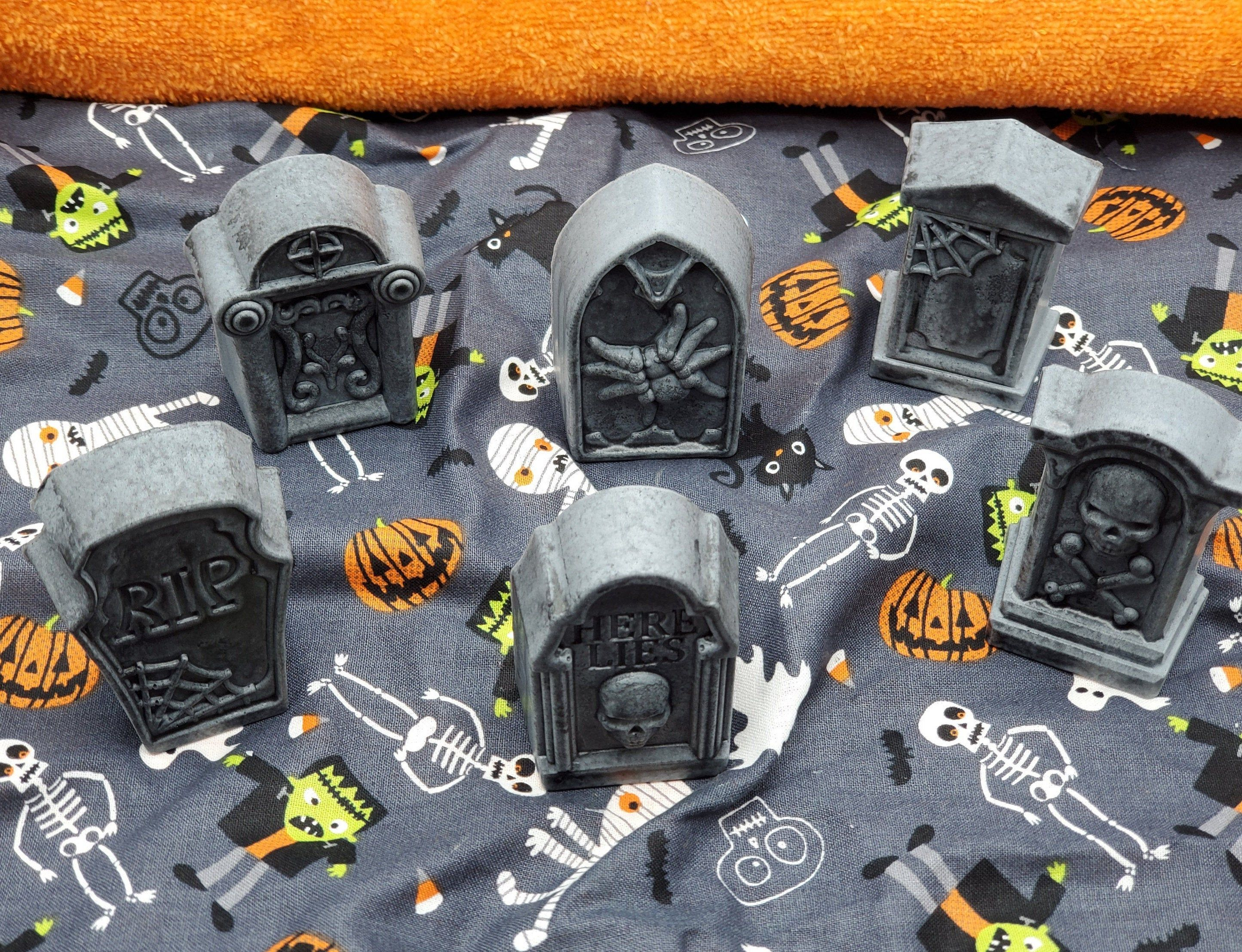 Sls Halloween Party 2020 Spooky Tombstone Soaps Set of 6 Choose your scent Unique   Etsy in