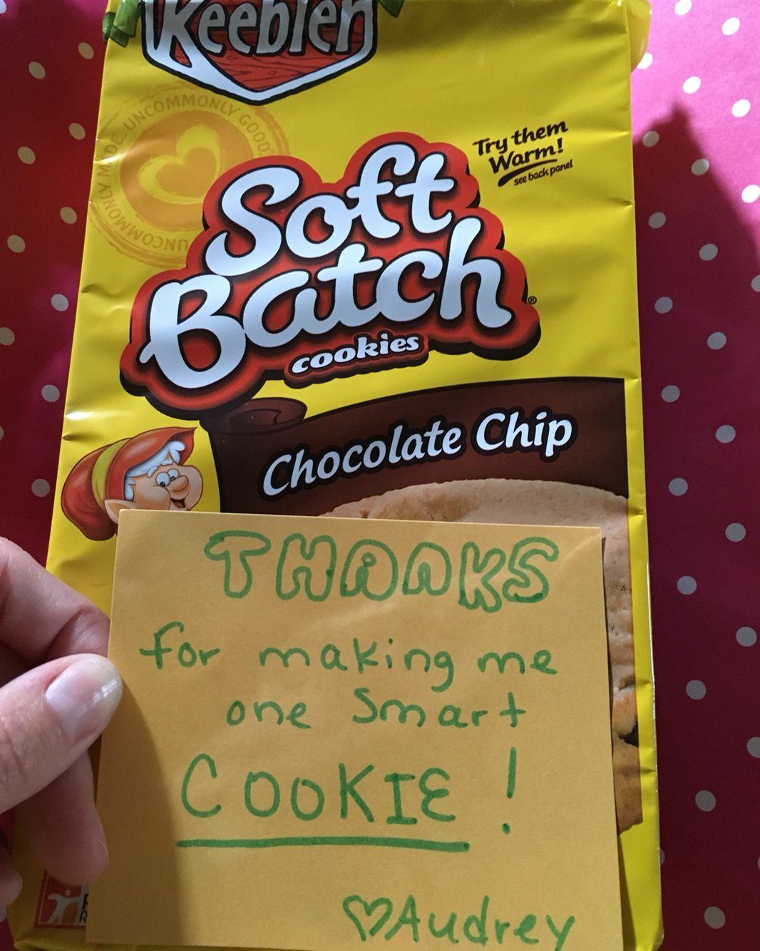 Teacher Appreciation Week Cookies Thanks For Making Me