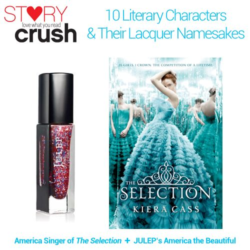 10 Literary Characters and Their Lacquer Namesakes