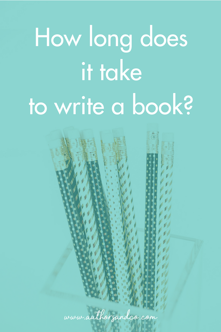 How long does it take to write a book is one of our FAQ ...