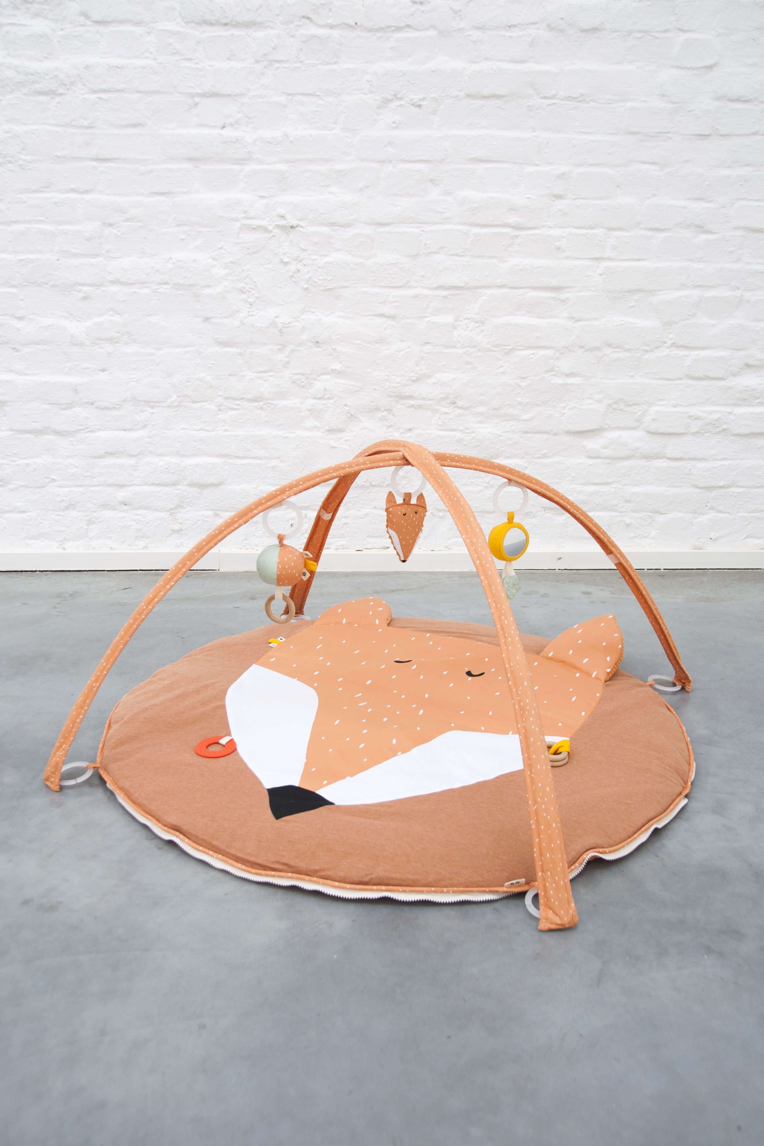 Activity Play Mat With Arches Mr Fox Play Mat Activity Toys Wooden Rings