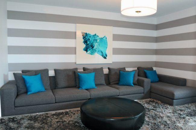 Entzuckend 65 Wand Streichen Ideen   Muster, Streifen Und Struktureffekte