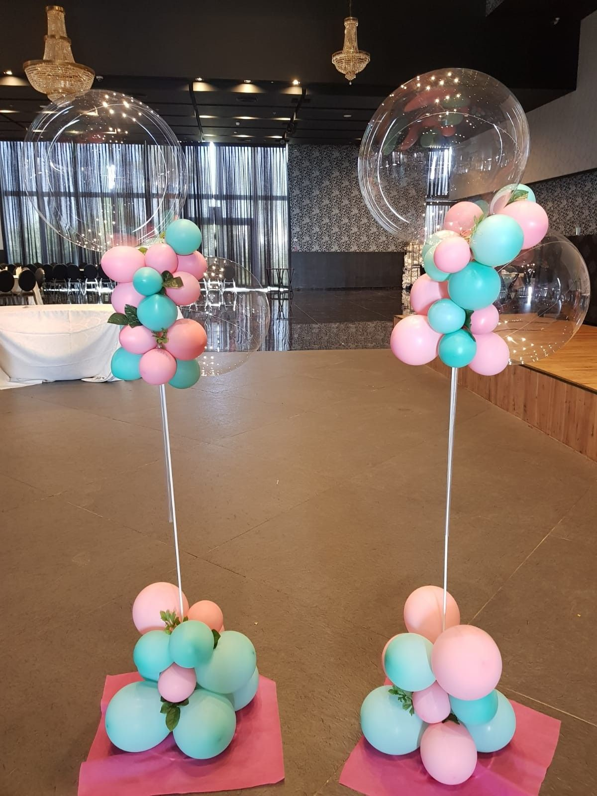 Baby shower balloons decoration LOUR PARTY (With images