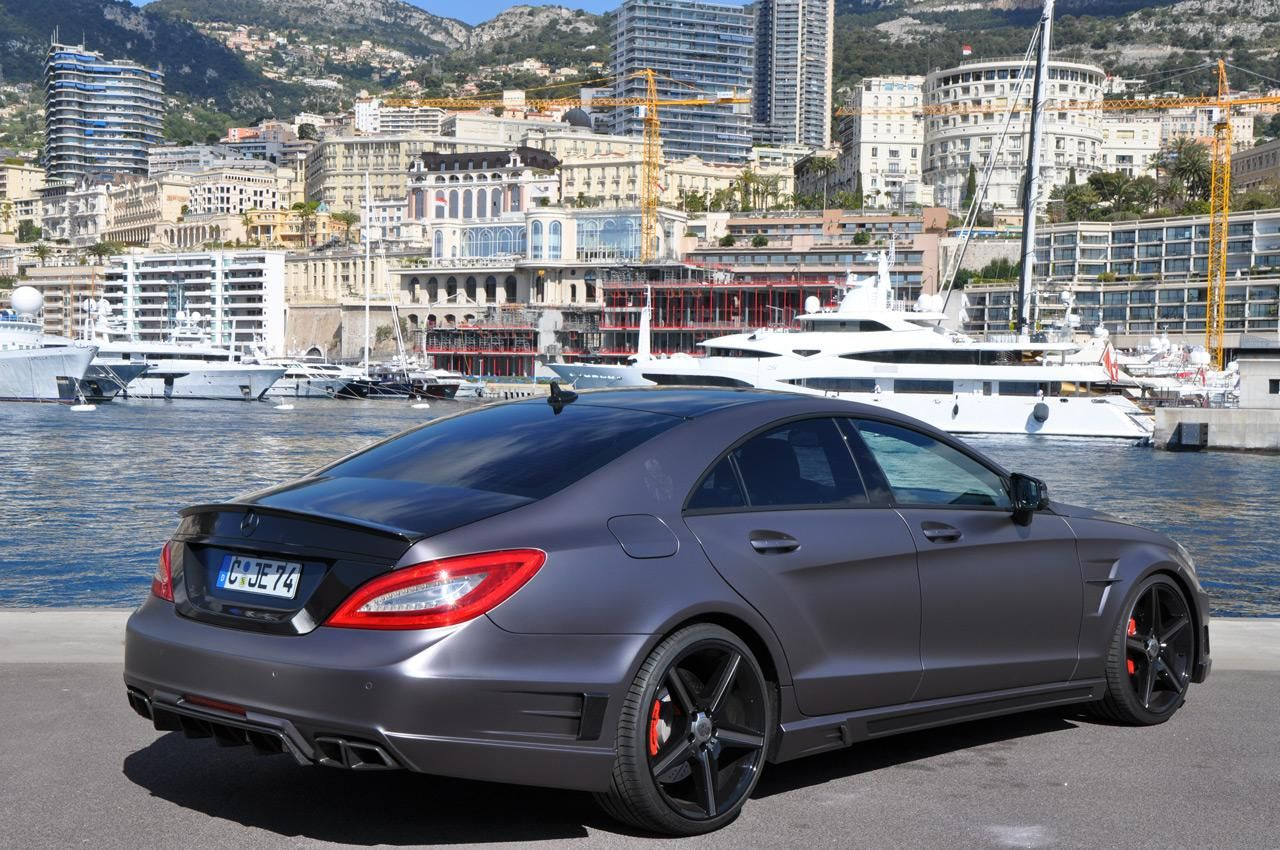 mercedes cls 63 amg от german special customs | tuning | pinterest