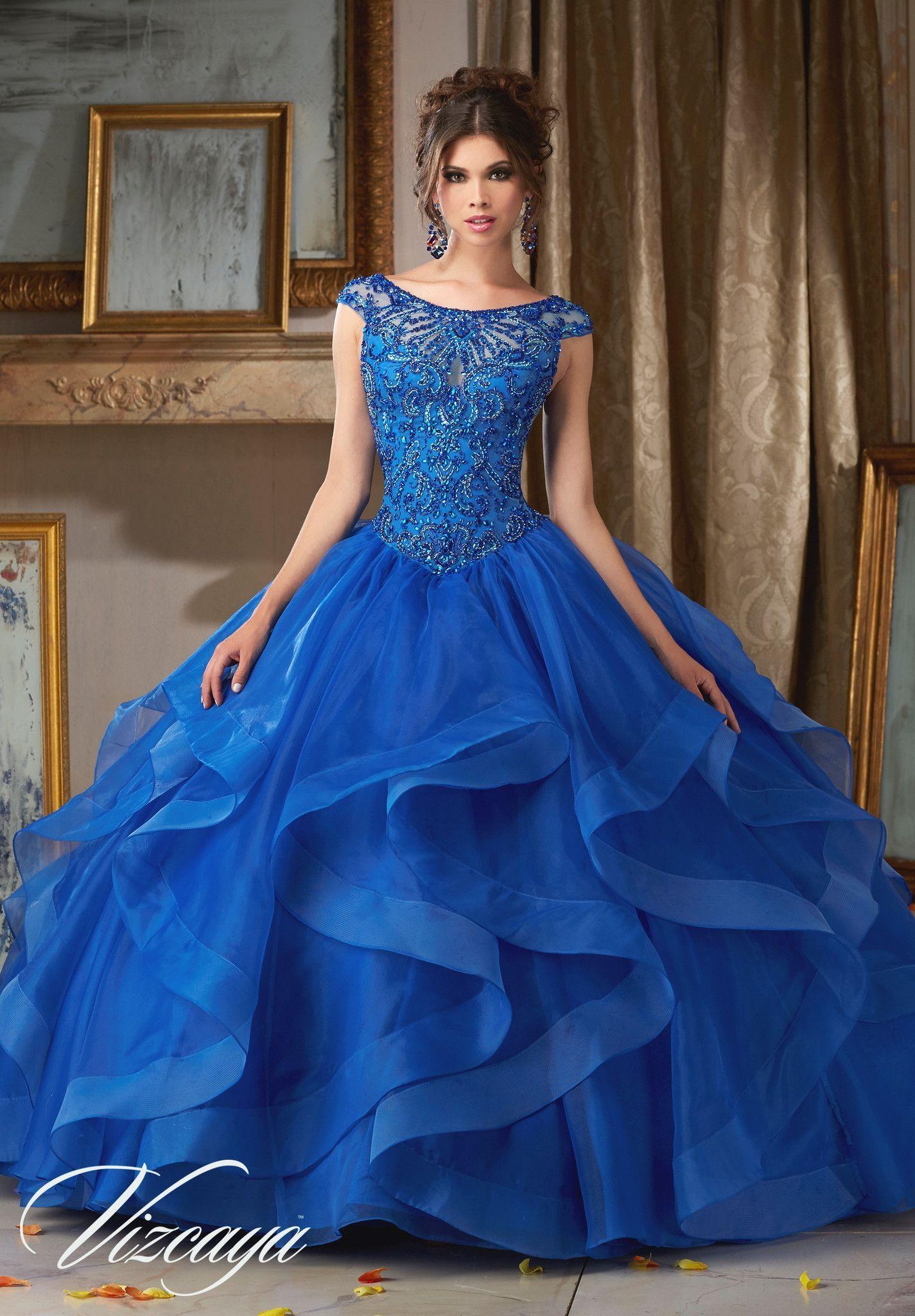 Mori Lee Quinceanera Dress 89117 | Abendgarderobe, Kleider mode und ...