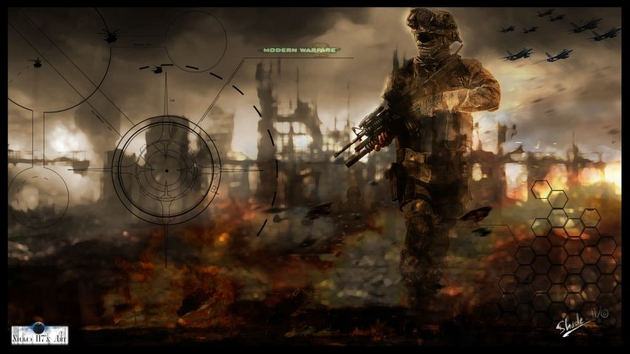 Call Duty Modern Warfare 2 Video Game Wallpaper Download