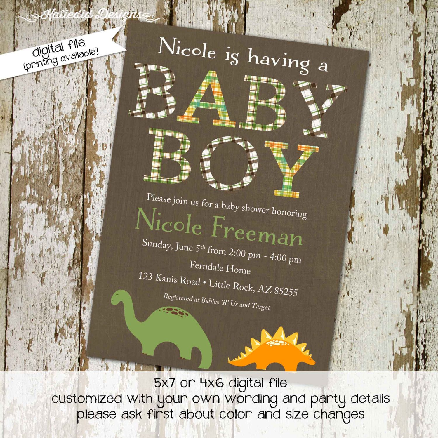 Invitation Ideas | Baby Shower ideas- for future* | Pinterest ...