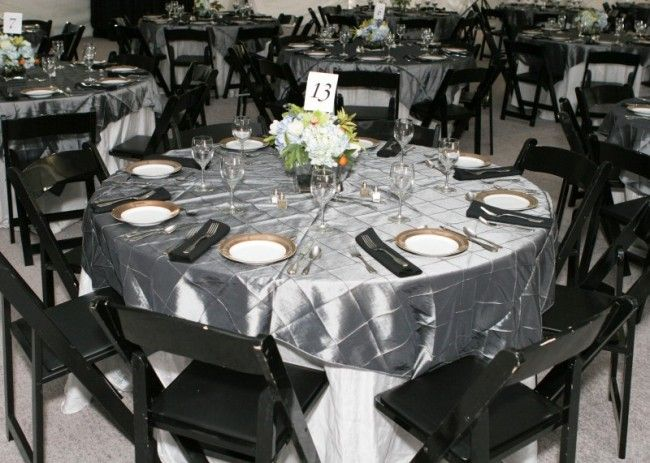 Pink And Gray Wedding Reception | Photo Gallery - Photo of Black ...