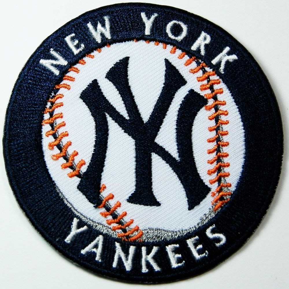 Baseball New York Yankees Logo Iron And Sewing On Patch From 0 99