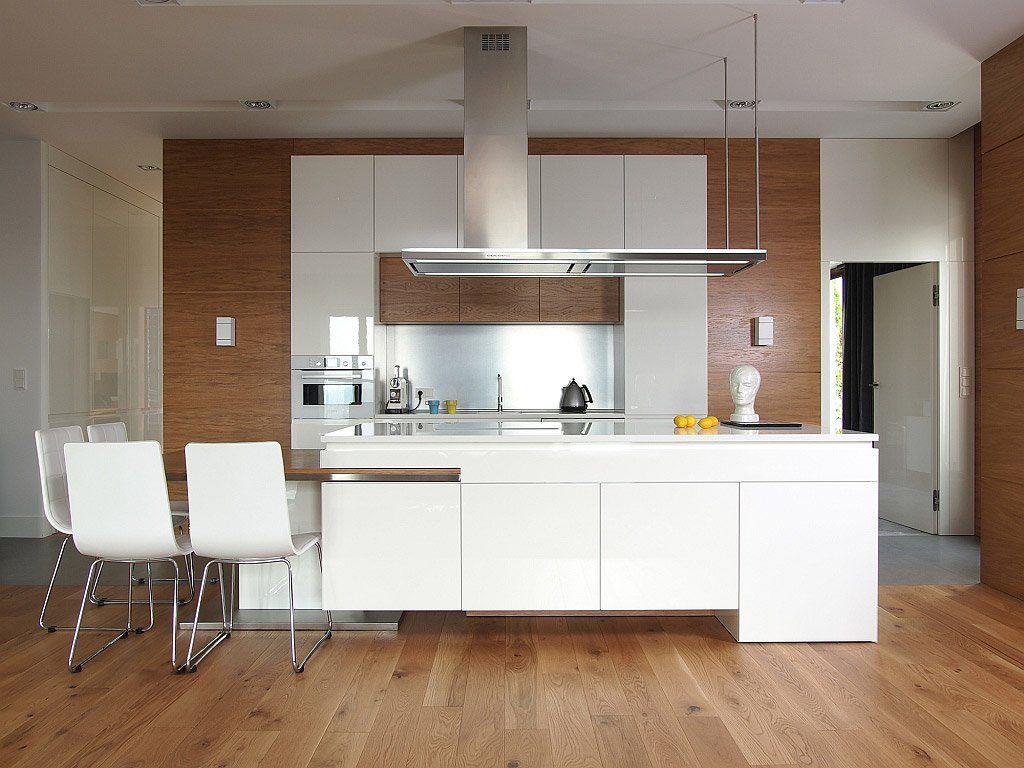 100 idee di cucine moderne con elementi in legno | Searching