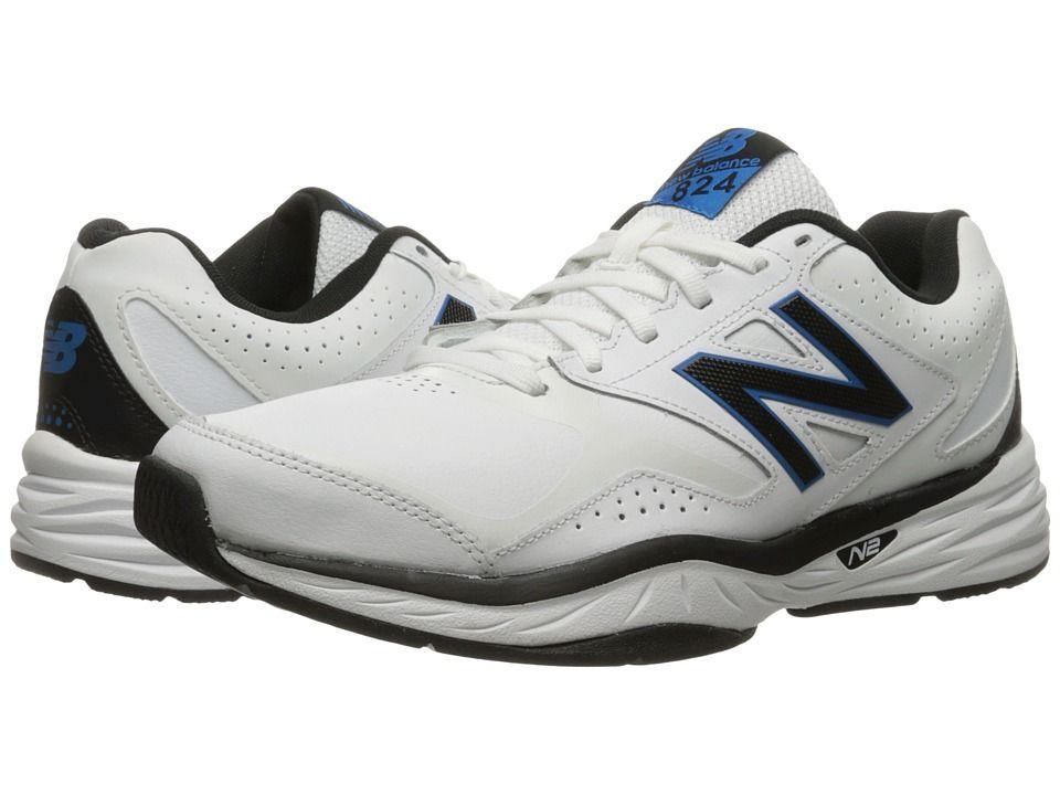 New Balance MX824v1 White/Placid Blue Men