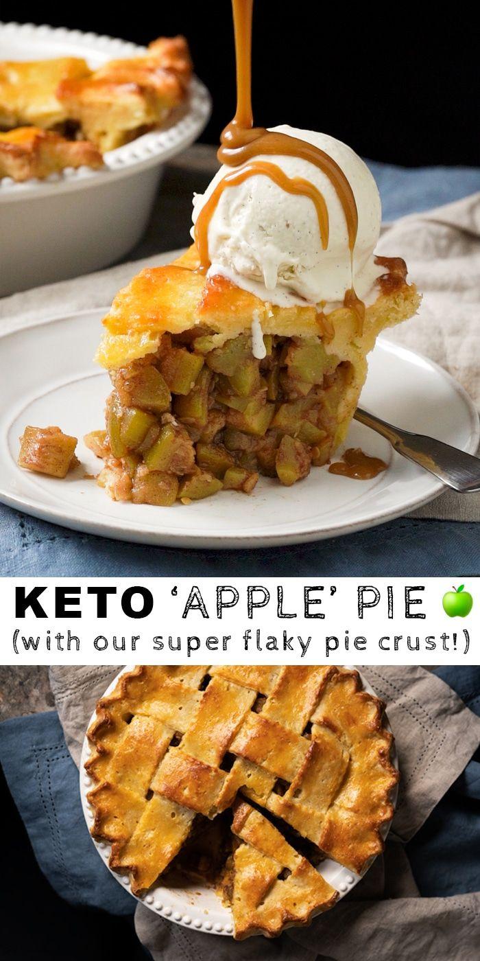 (Absolutely Legit!) Keto 'Apple' Pie