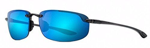 407348a31d3847 Maui Jim - HOOKIPA 807, Round, acetate, men, GREY SMOKE BLUE HAWAII MIRROR  POLARIZEDPLUS2(B407-11), 64 17 130