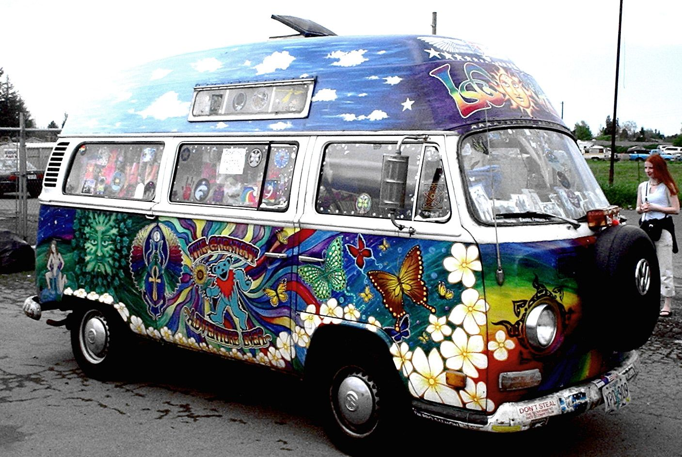 psychedelic vw van that 39 s me vans volkswagen bus. Black Bedroom Furniture Sets. Home Design Ideas