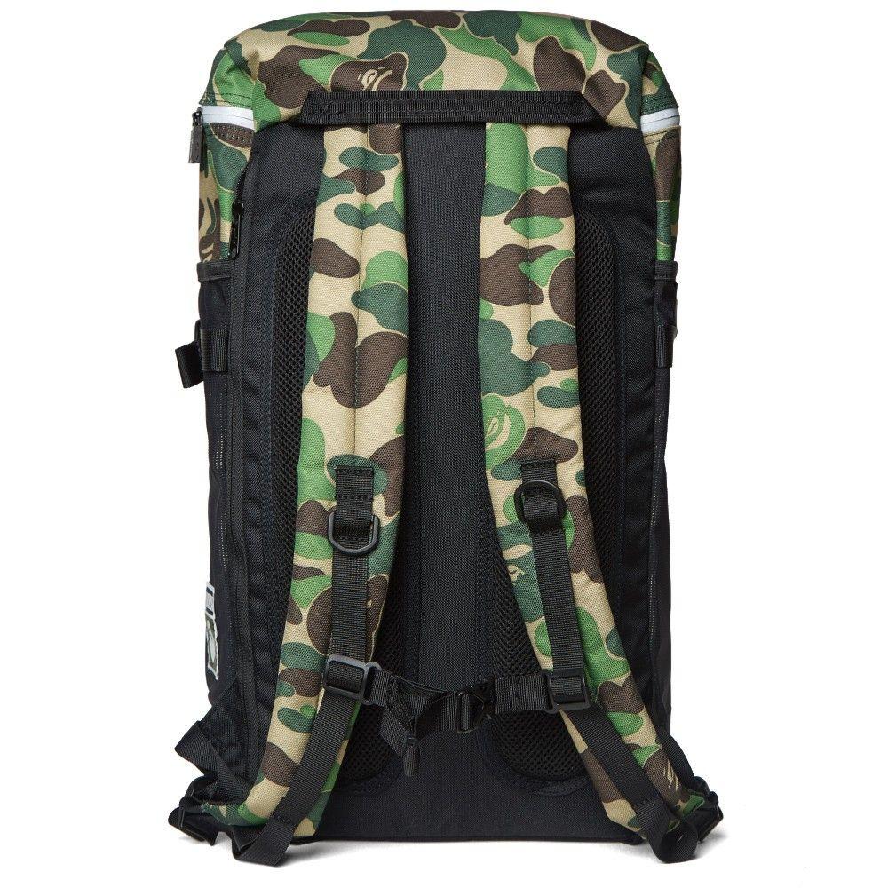 Puma X Bape Backpack Black Abc Camo Camo For Men