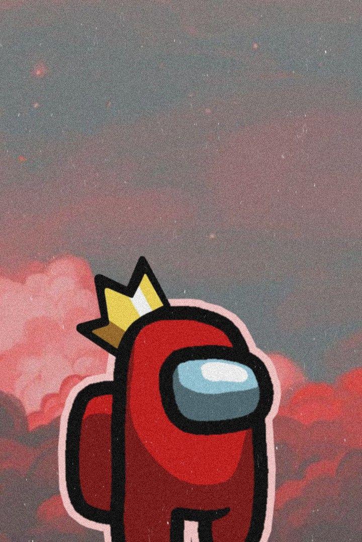 Red Among Us Wallpaper Cute Patterns Wallpaper Edgy Wallpaper Cartoon Wallpaper