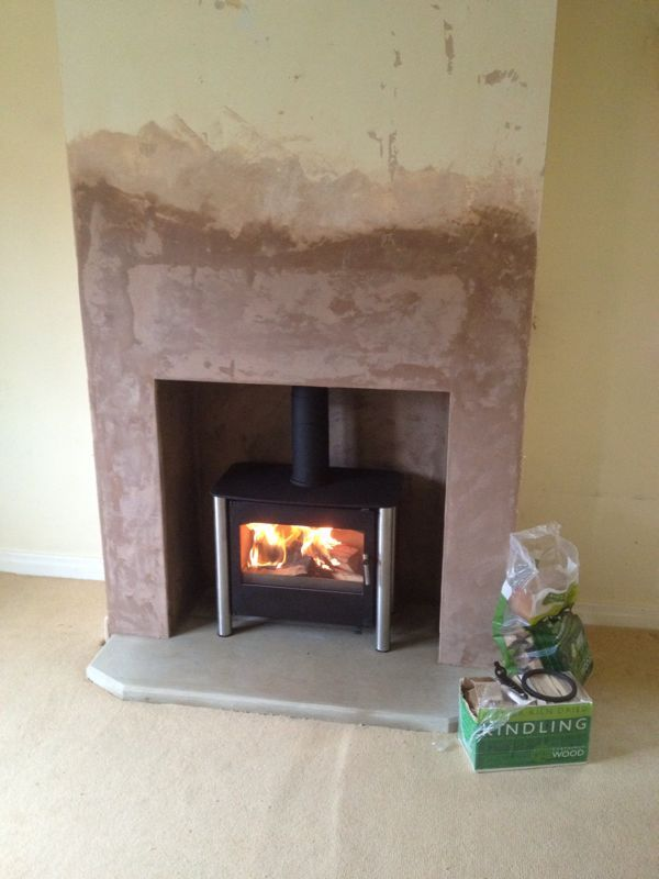 New Fireplace False Chimney Breast To House Stove New