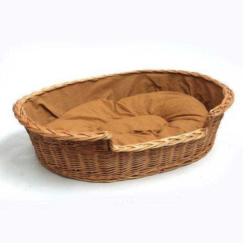 Extra Large Luxury Wicker Dog Bed Basket Wicker Dog Bed Basket Dog Bed Dog Bed