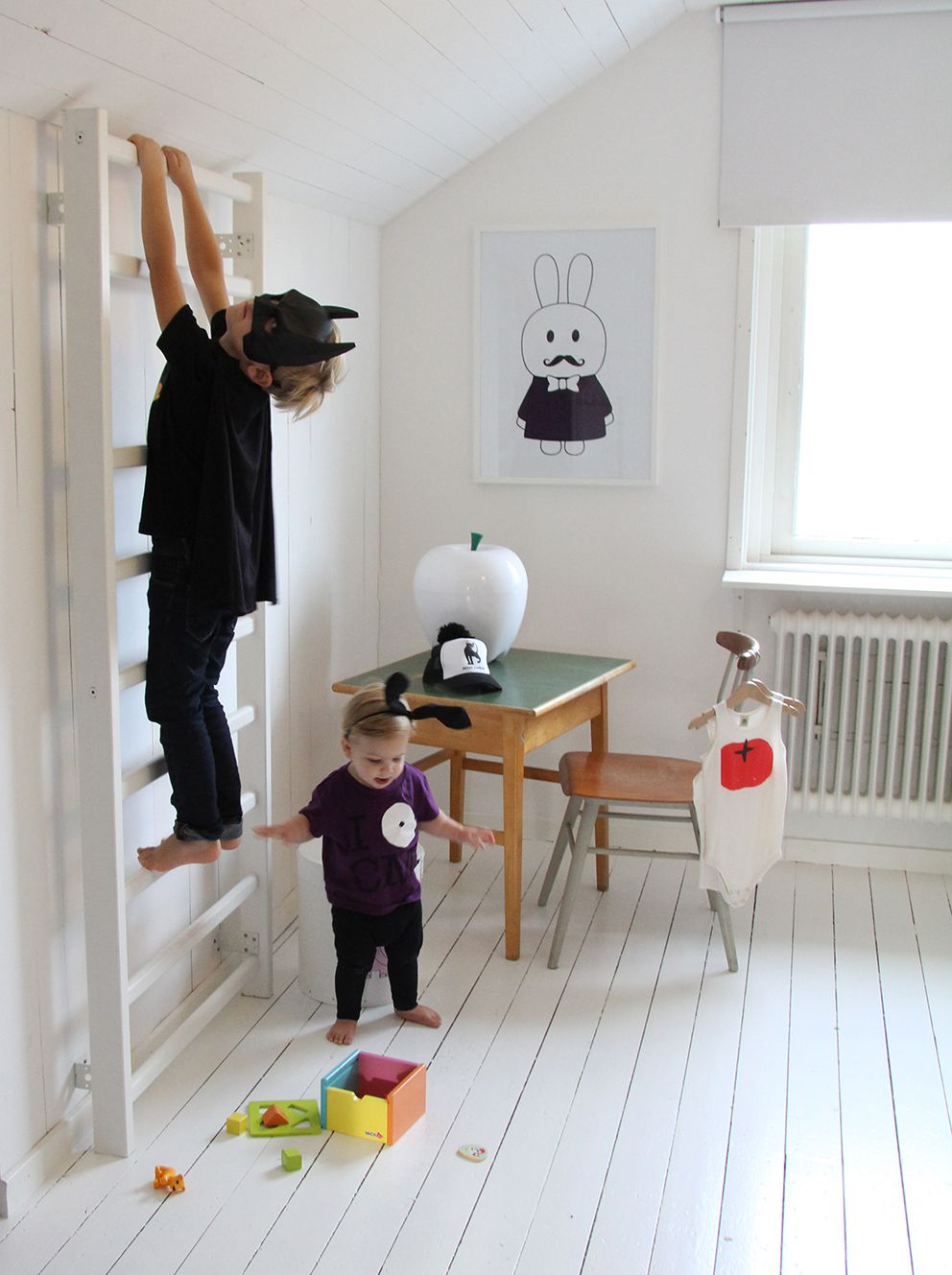 klimrek in de #kinderkamer | miniwilla | Kinder slaapkamer creaties ...