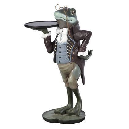Frog Butler Statues | Our Exclusive Frog Side Table, Often Thought Of As A  Symbol