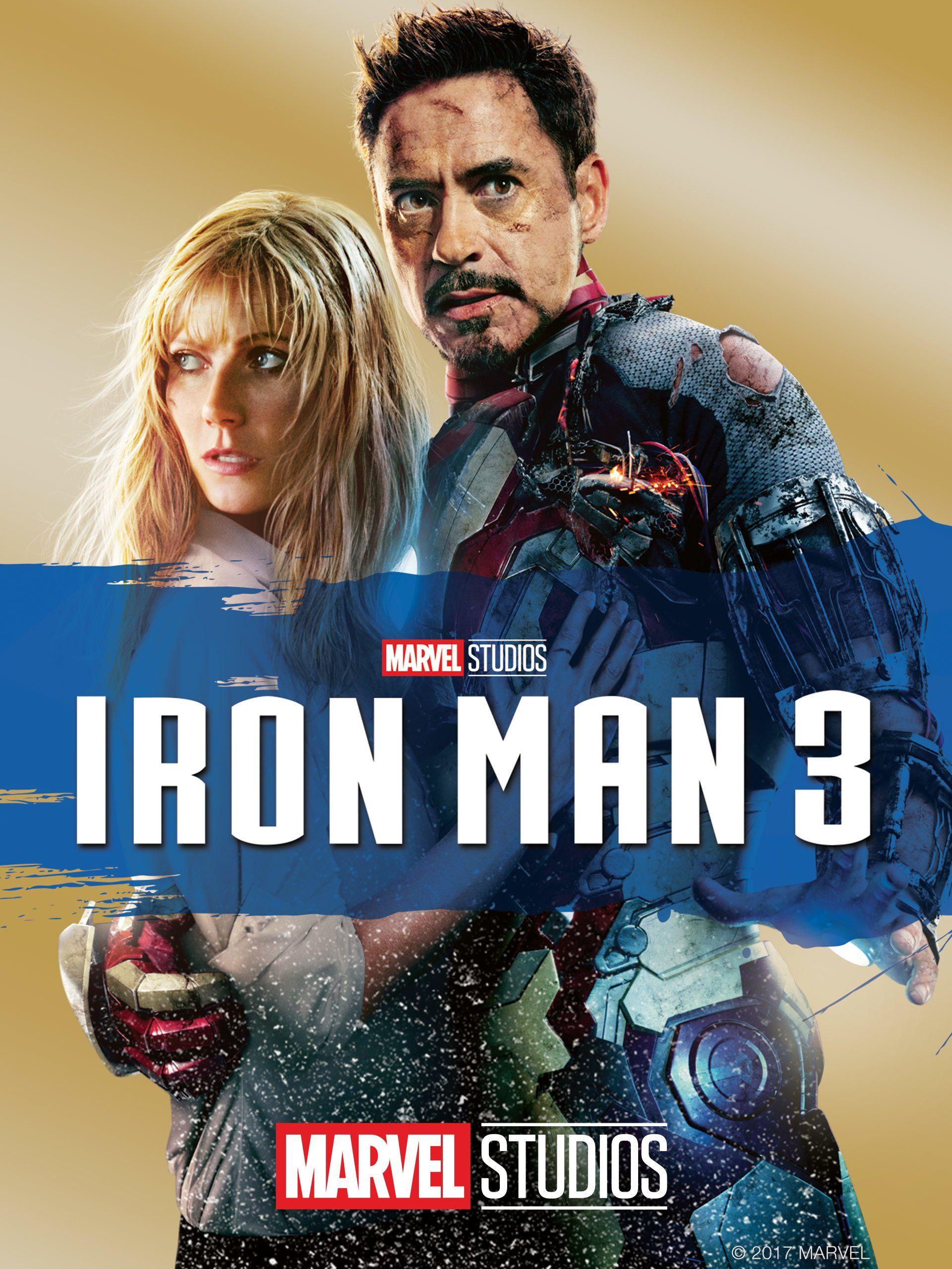 Iron Man 3 (2013) Dual Audio (Eng-Hindi) 480p BRRip | Marvel Studios