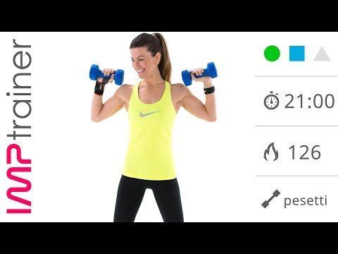 video di esercizi per dimagrire