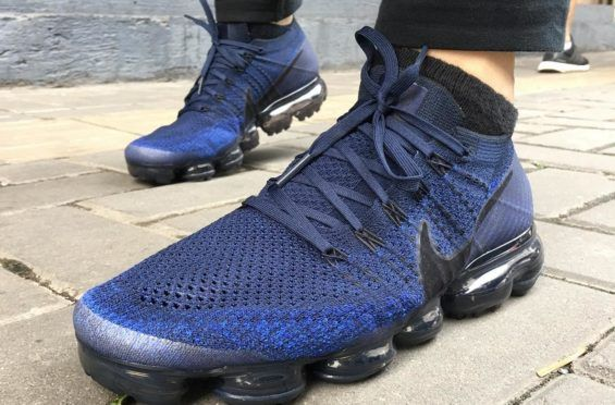 best loved 2db77 91002 The Nike Air VaporMax College Navy Drops On June | Winter ...