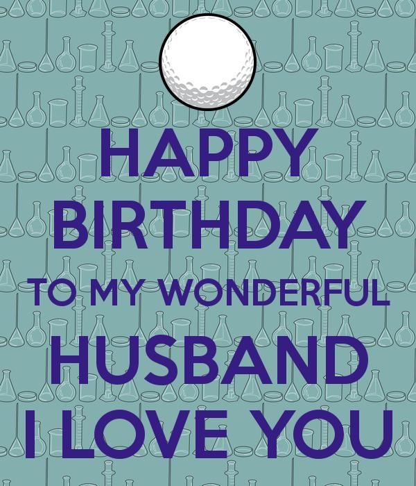 Happy Birthday HUSBAND Golf