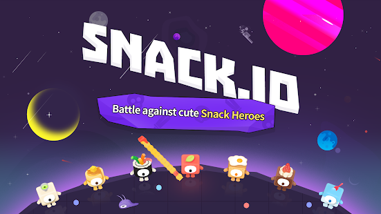Snack.io Free Battle io game with Snack Warriors