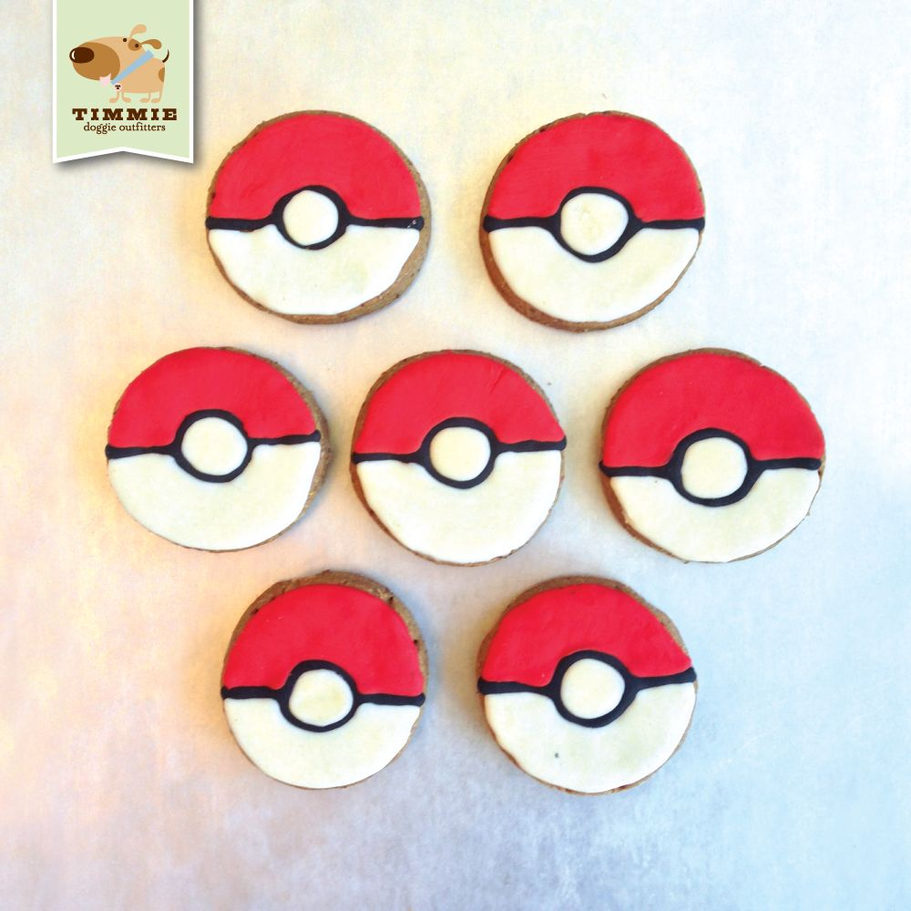 Special delivery Pokémon Poké Ball cookies from Trixie's