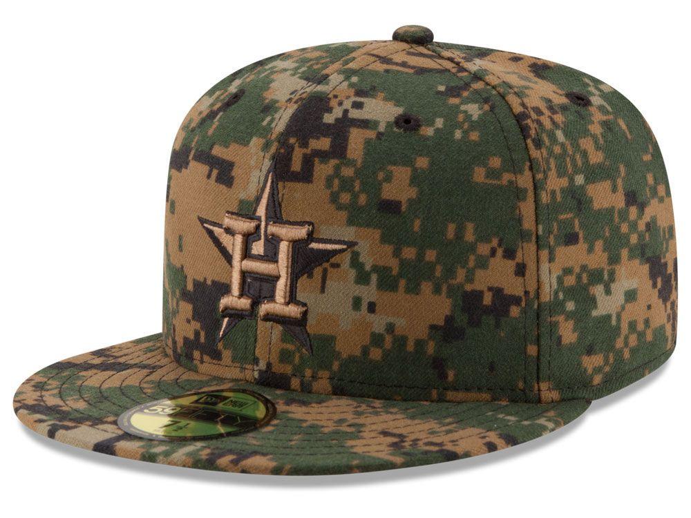 Houston Astros New Era MLB 2016 Memorial Day 59FIFTY Cap  74fb308ee4bc