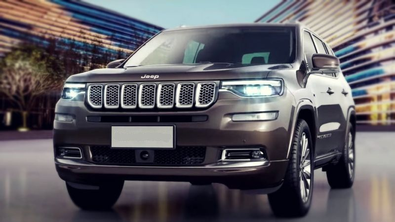2019 Jeep Grand Commander is the new threerow crossover