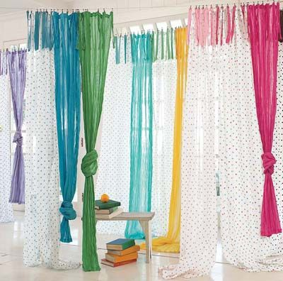 Colored Cotton Curtains Jpg 400 396 Eclectic Curtains Curtains Childrens Room Cool Curtains