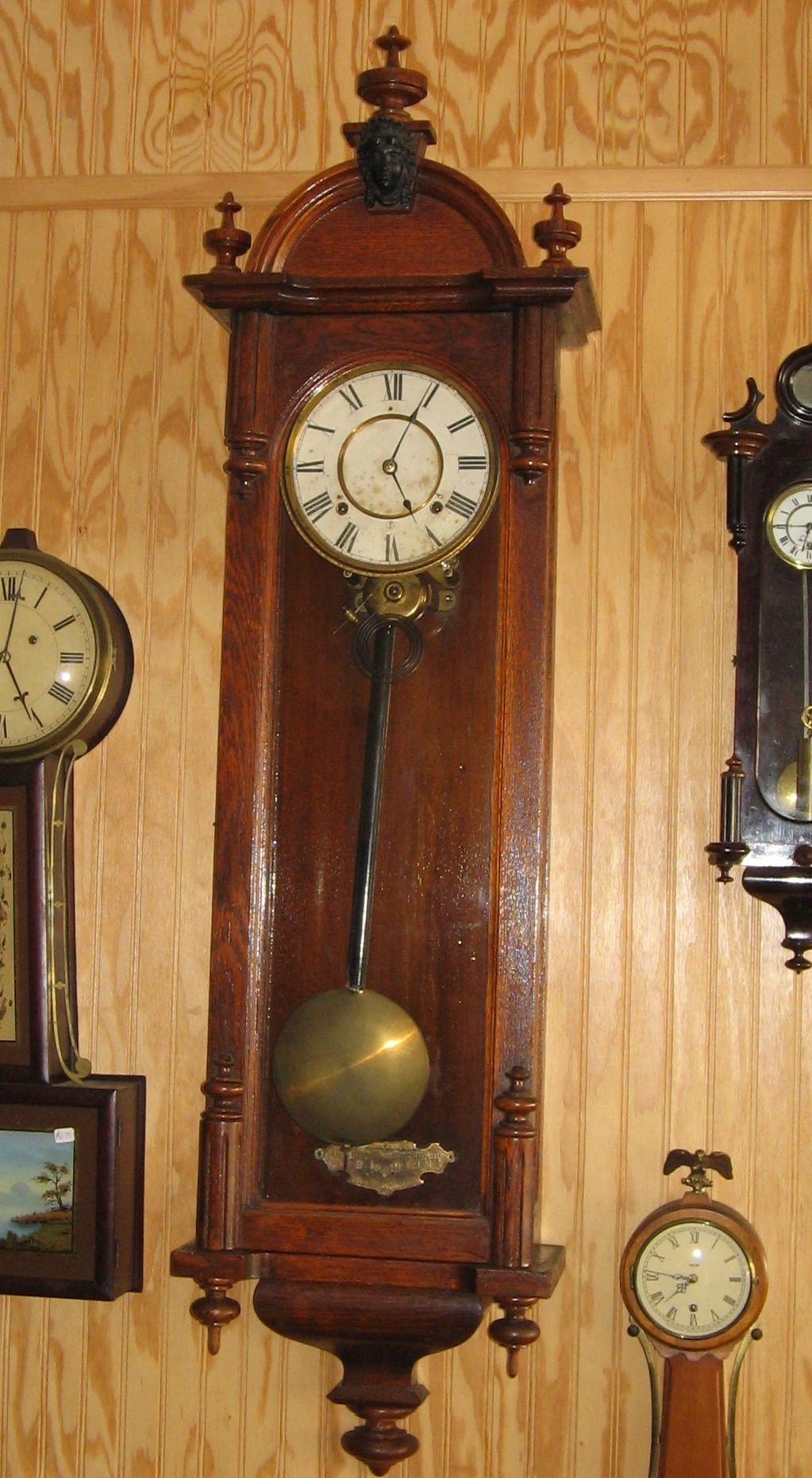 Ansonia Regulator Clock Pendulum Bob