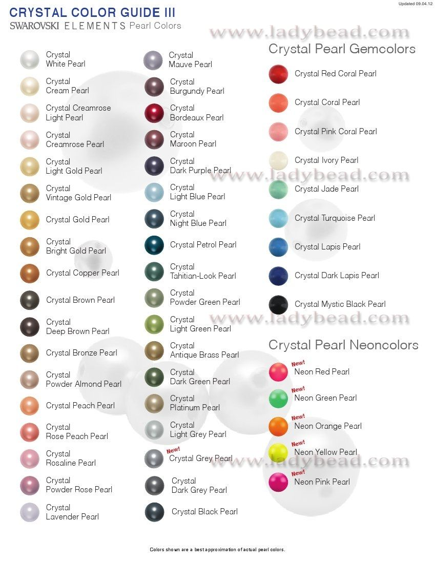 Page Not Found Crystal Beads Pearl Color Swarovski Beads