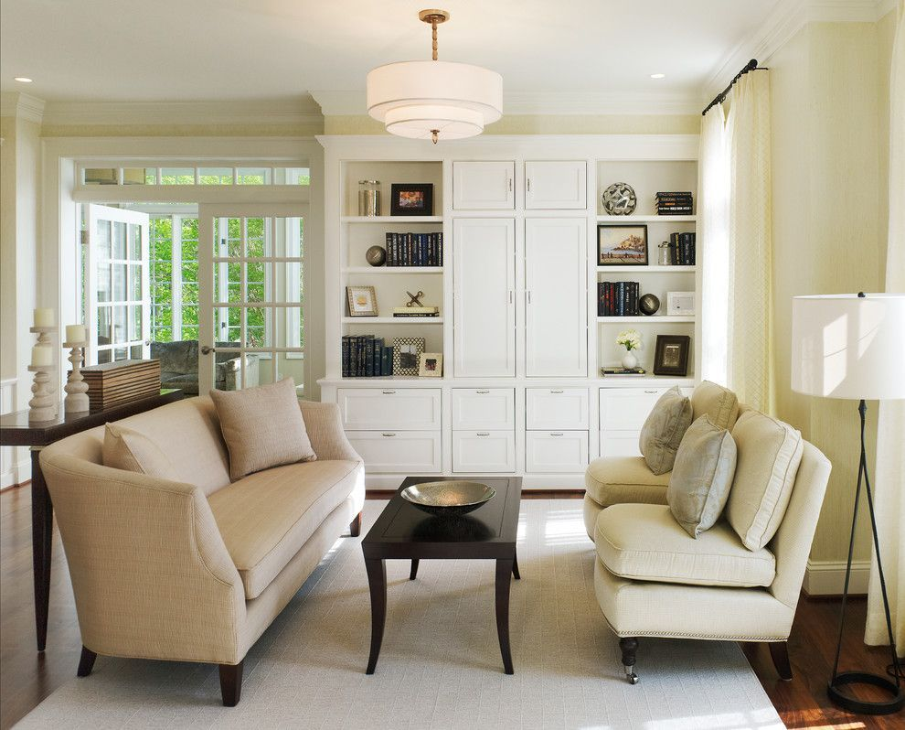 Superb Armless Chair fashion Other Metro Transitional Living Room ...