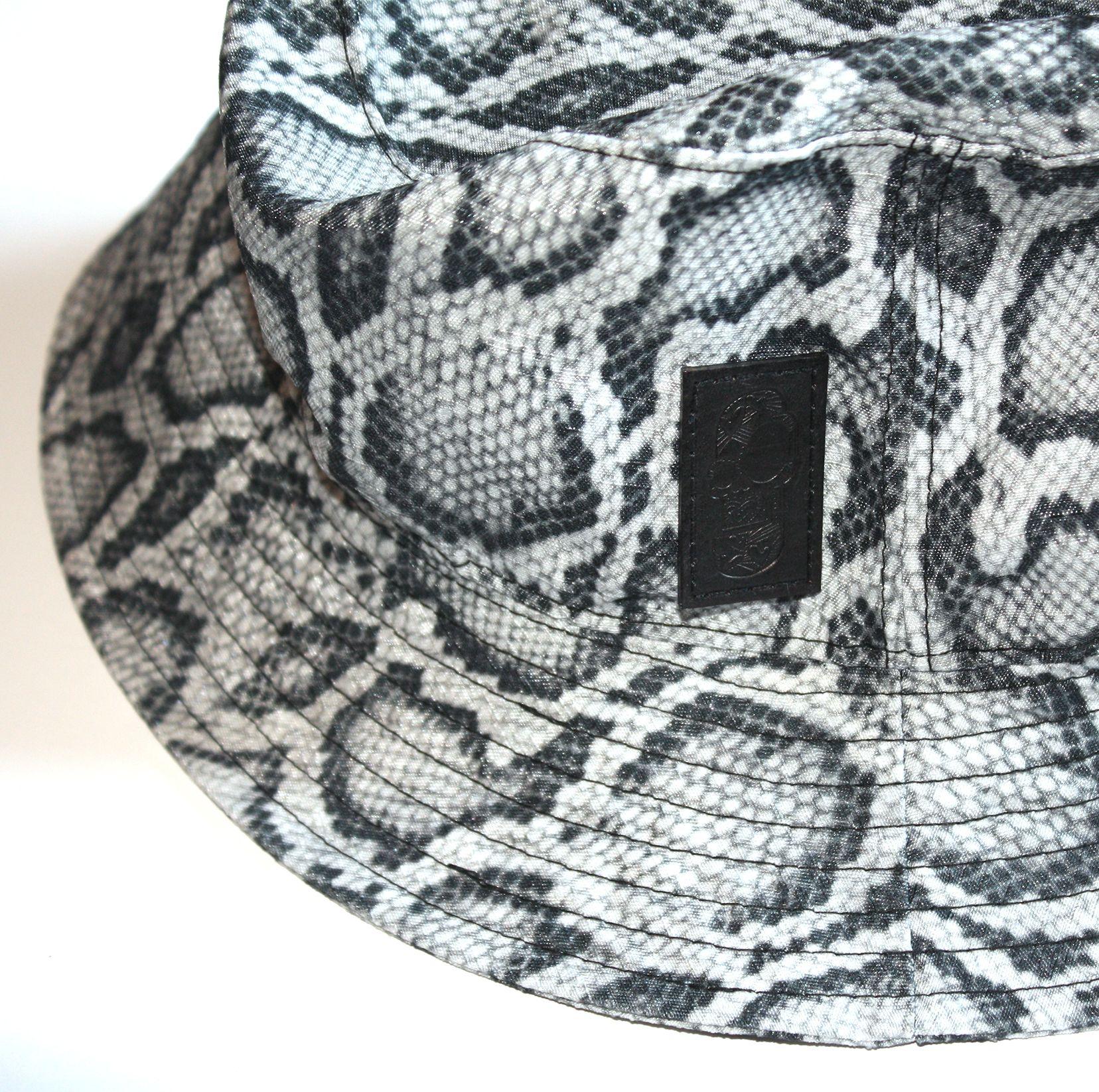 Snakeskin Bucket Hat  4ef67ac77d7