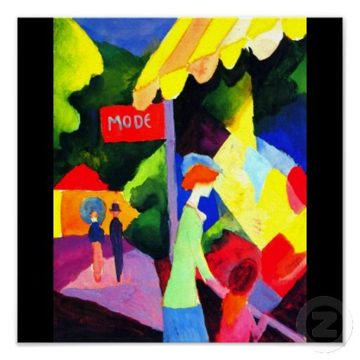 Poster-Classic/Vintage-August Macke 3