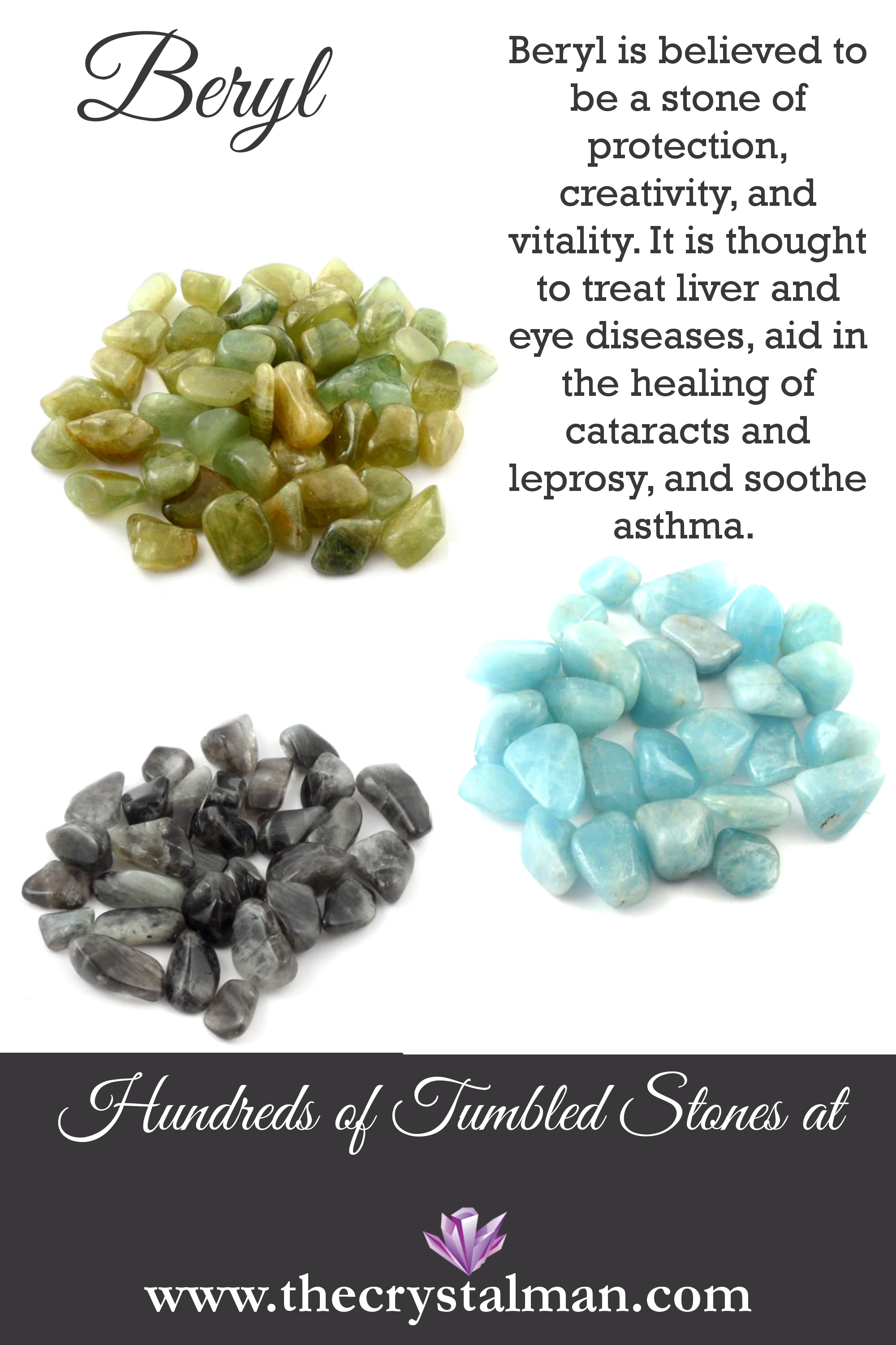 Crystals for liver health