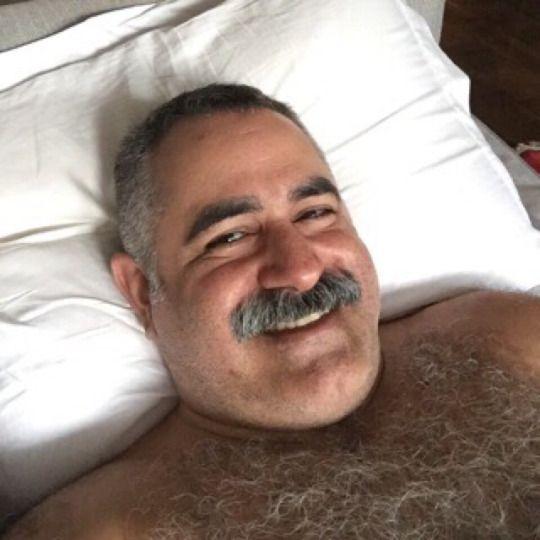 bare hairy daddy arab