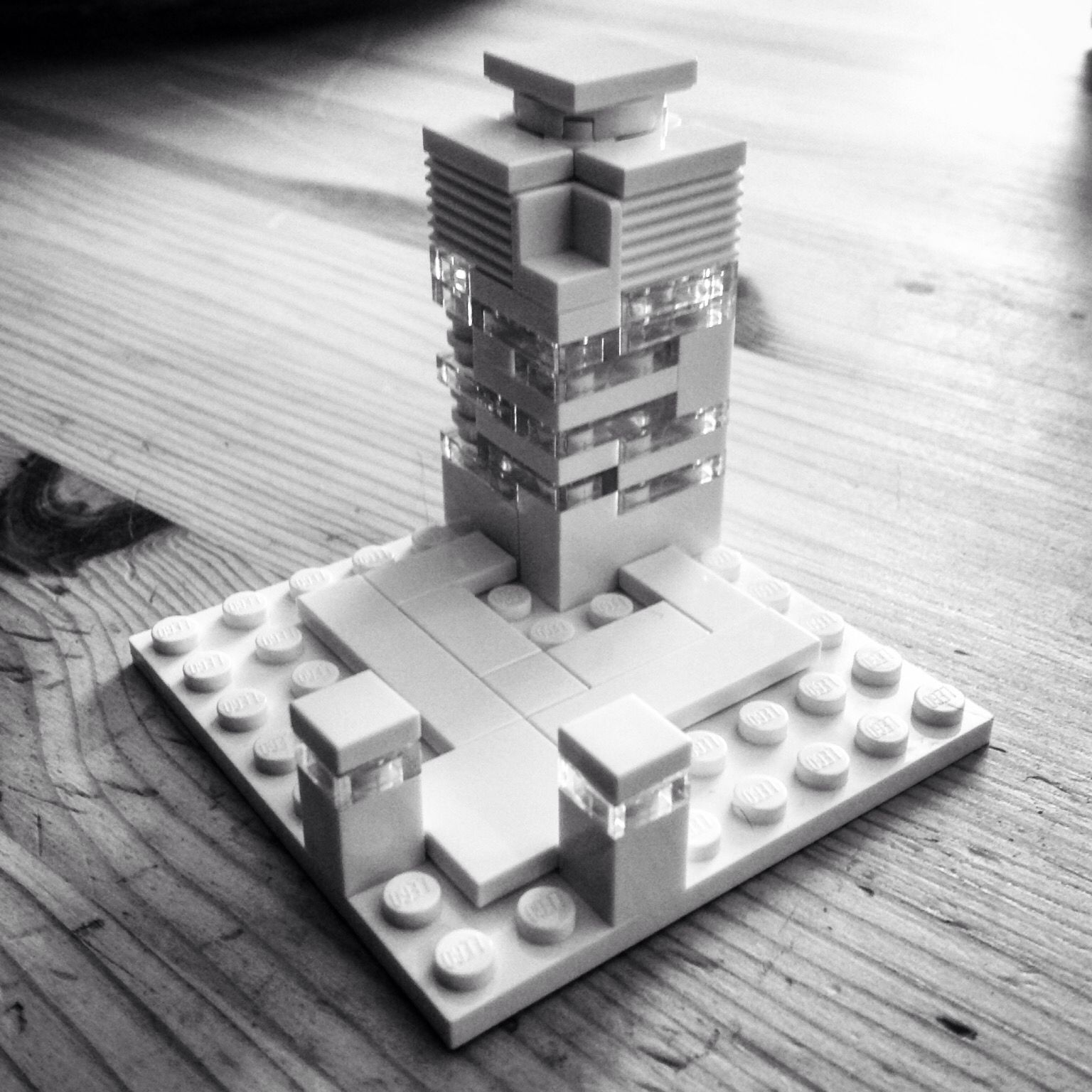 Modern Architecture Lego lego architecture studio creation (my 13 yr old son's first design