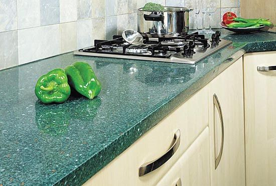 Kitchen Countertop Green Marble Google Search