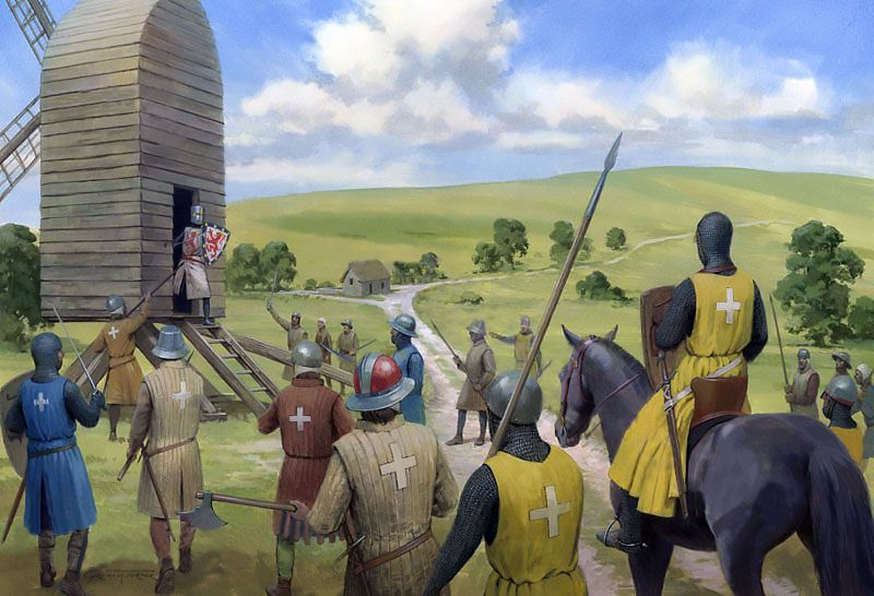 The Siege Of Snelling S Mill Swept Away By The Rout Of The