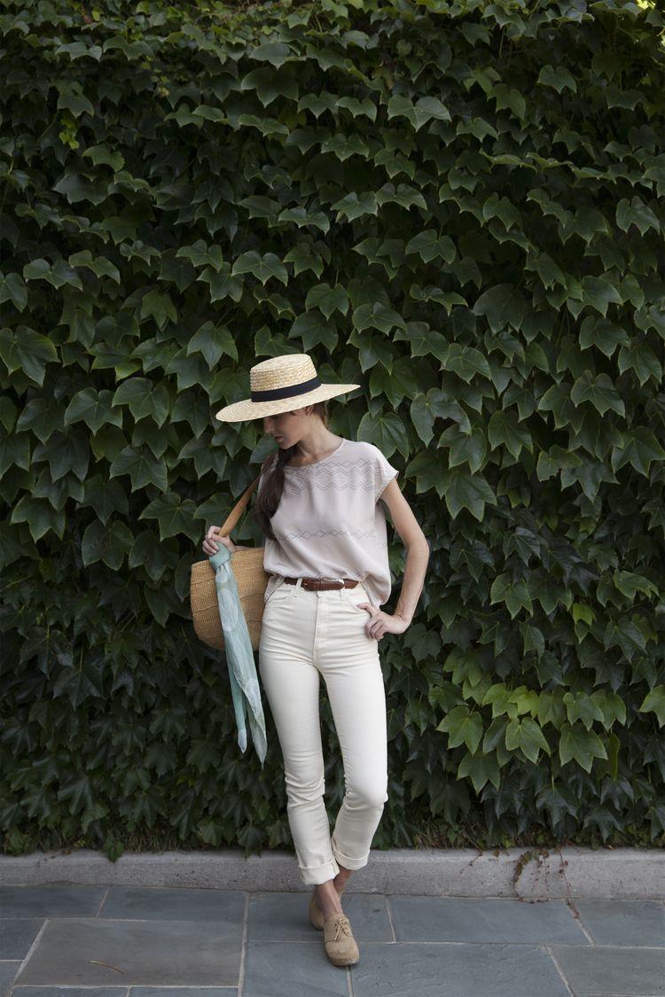 worn: marlowe top