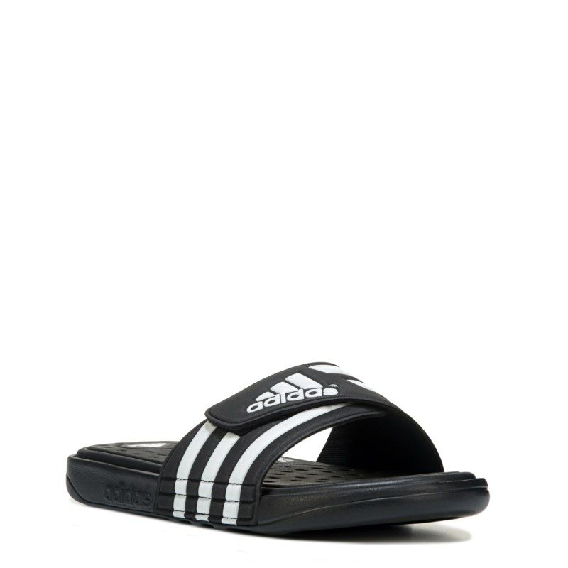 Adissage Cloudfoam Slide Sandals (Black
